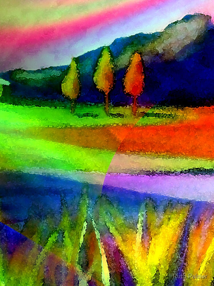 Caught In A Rainbow by Ruth Palmer