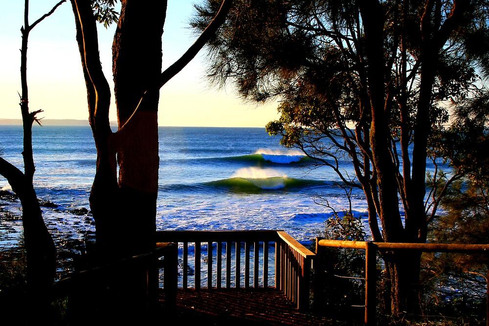 Sunrise Swell by Jason Harding