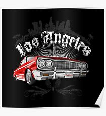 Auto Series L.A. Lowrider Poster