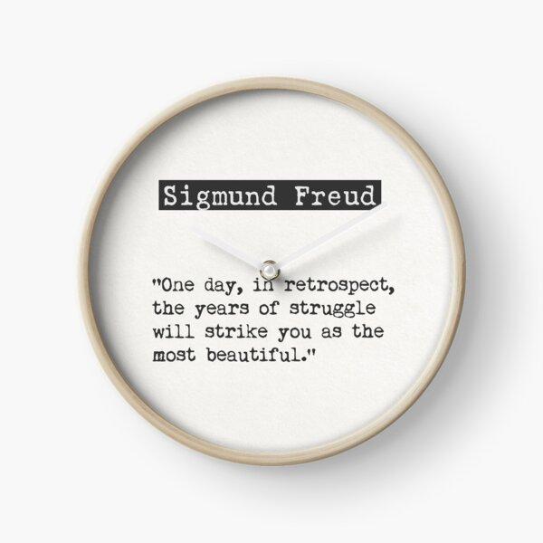 Cita Sigmund Freud Reloj