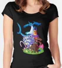 Candy Cuties Women's Fitted Scoop T-Shirt