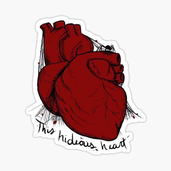 Hideous Heart Sticker