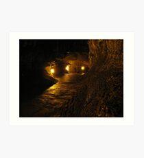 Thurston Lava Tube  Art Print