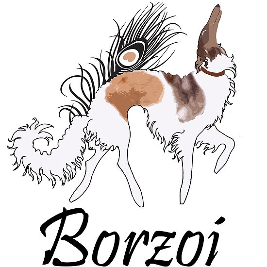 Sable Borzoi by Happy Dog Swag