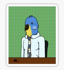 Business Bird Sticker