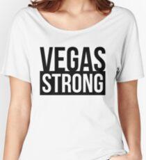 VEGAS STRONG LAS VEGAS Women's Relaxed Fit T-Shirt