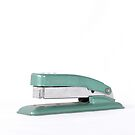 1950s Swingline Green Stapler by Jason Michaels