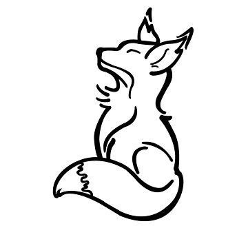 Happy Fox by Brookb812