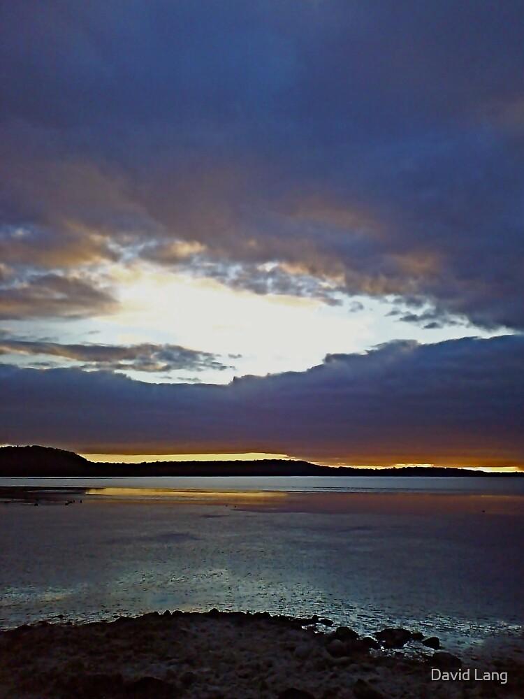 Denmark Inlet at Dawn by David Lang