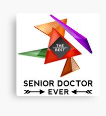 SENIOR DOCTOR - NICE DESIGN FOR YOU Canvas Print
