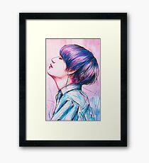 CRYSTALLINE | V Framed Print
