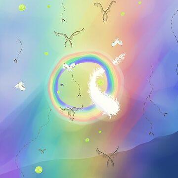 reverse rainbow! mushishi by grunesgryphon