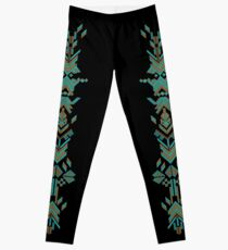Aztec design Leggings