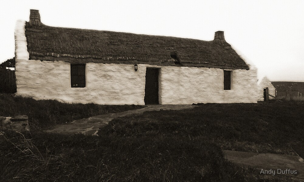 The auld crofthoose by Andy Duffus