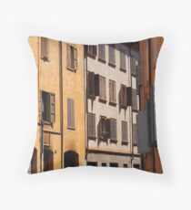 Modena - Shutters and windows Throw Pillow