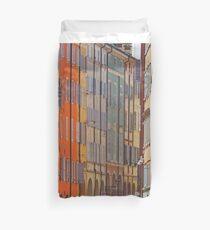 Modena - Streetscape stripes Duvet Cover