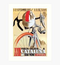 Lámina artística Cartel de la carrera ciclista de la gira de España de 1943