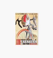Lámina de exposición Cartel de la carrera ciclista de la gira de España de 1943