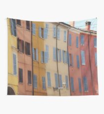 Modena - Streetscape colours Wall Tapestry