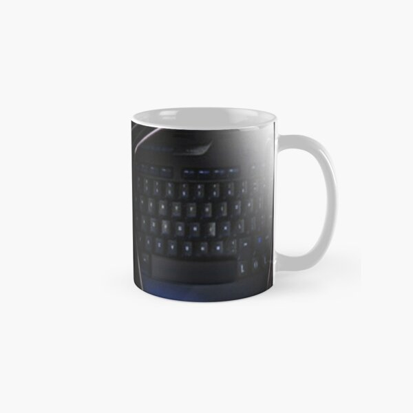 COMPUTER KEYBOARD VISIONS PICTURE AND OR CARD Classic Mug