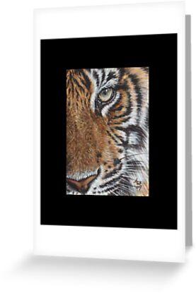 Tiger #7 by artbyakiko