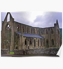Tintern Abbey, North Façade  Poster