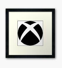 x-box logo Framed Print