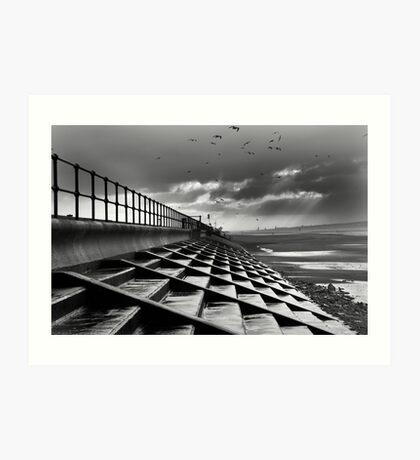 Crosby Steps Art Print