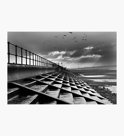 Crosby Steps Photographic Print
