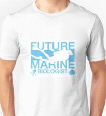 Future Marine Biologist Funny Ocean Life Scientist Unisex T-Shirt