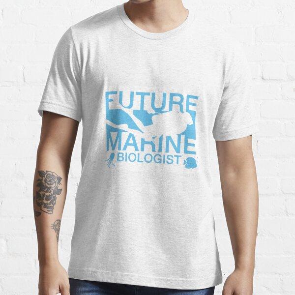 Future Marine Biologist Funny Ocean Life Scientist Essential T-Shirt