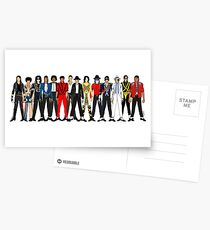 Outfits of Jackson LV Postcards
