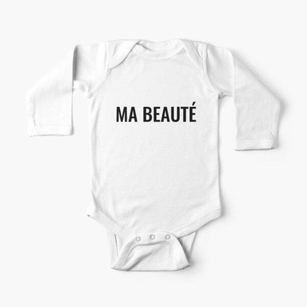 Ma beauté Long Sleeve Baby One-Piece