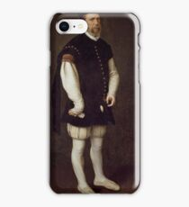 MORO, ANTONIO Utrecht, 1516 - Amberes  , 1576 Perejon, the Buffoon of the Count of Benavente and of the Grand Duke of Alba Ca. 1560 iPhone Case/Skin