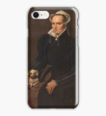 MORO, ANTONIO Utrecht, 1516 - Amberes  , 1576 Portrait of a Seated Woman 1560 - 1565 iPhone Case/Skin