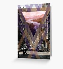 Escape From The City Greeting Card