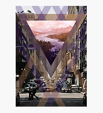 Escape From The City Photographic Print