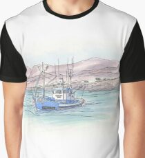 Lanzarote fishing boat Graphic T-Shirt