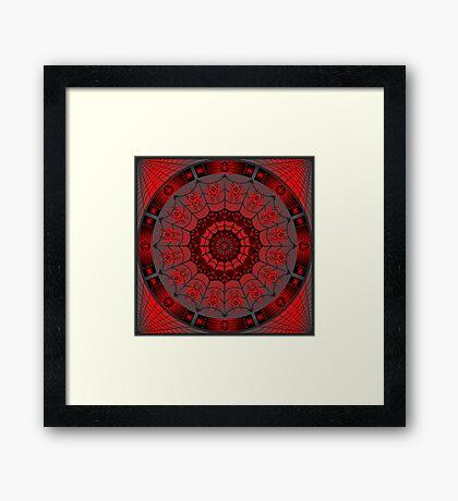 Spider Design (Iktomi) Framed Print