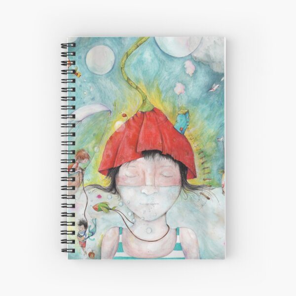 Crowded Spiral Notebook