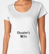 Calling out a Cheater Women's Premium T-Shirt