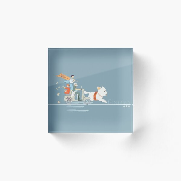 Gintama Acrylic Block
