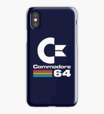 Commodore 64 Logo Merchandise iPhone Case/Skin