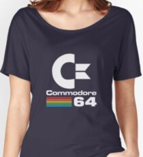 Commodore 64 Logo Merchandise Women's Relaxed Fit T-Shirt