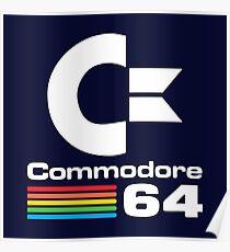 Commodore 64 Logo Merchandise Poster