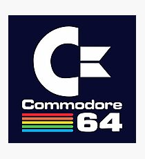 Commodore 64 Logo Merchandise Photographic Print