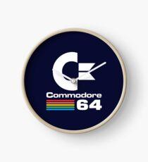 Commodore 64 Logo Merchandise Clock