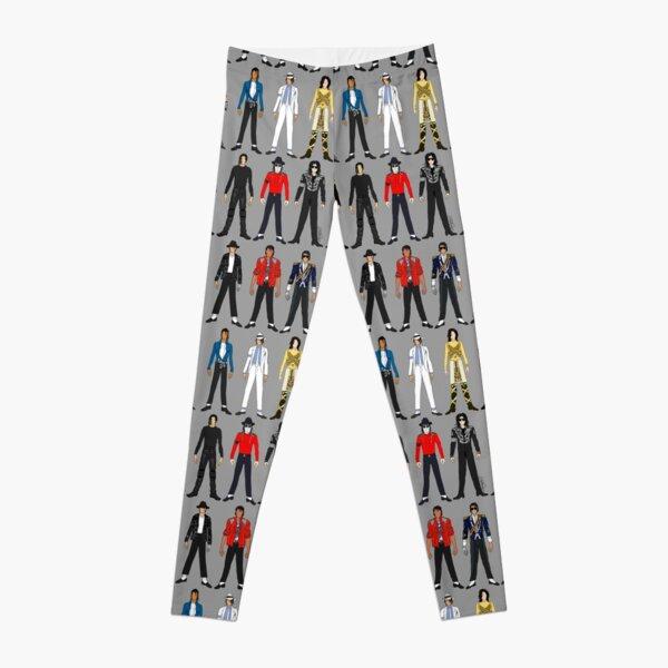 Outfits of King Jackson Pop Music Fashion Leggings