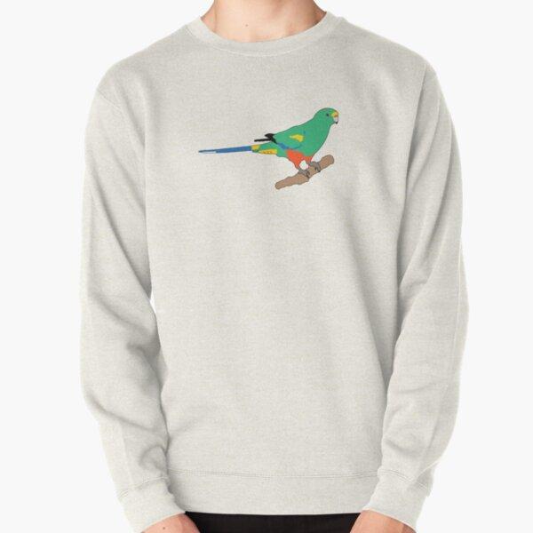 Mulga Parrot Pullover Sweatshirt