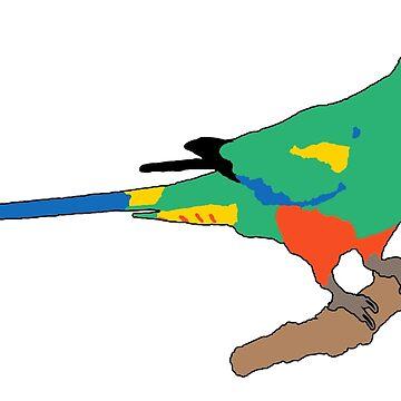 Mulga Parrot by daniel-venema
